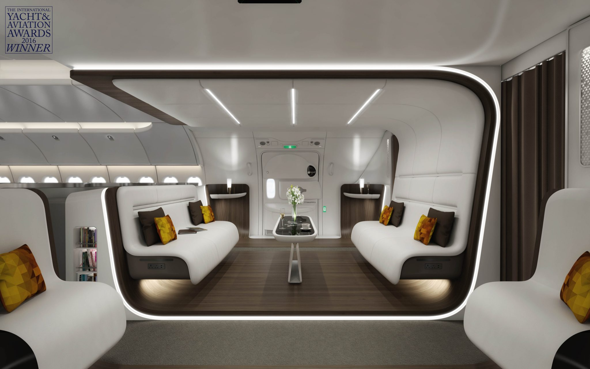 Aim altitude aircraft cabin interiors design manufacturing for Be interior design