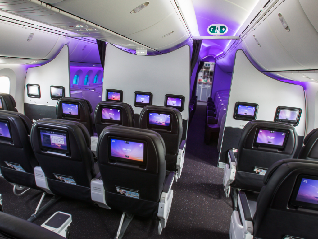 Air New Zealand Airline Interior Portfolio Aim Altitude