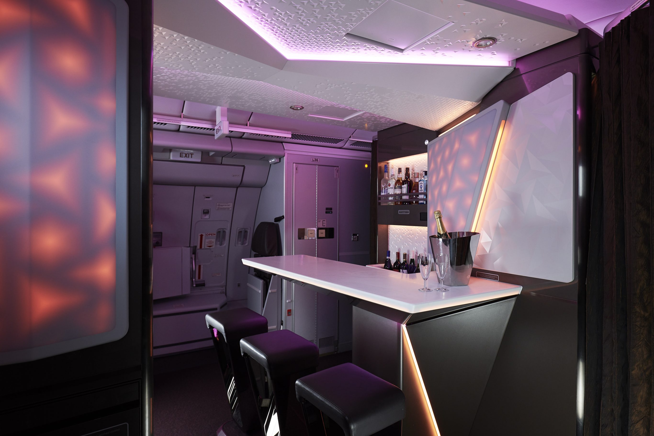 Virgin Atlantic Airline Interior Portfolio - AIM Altitude